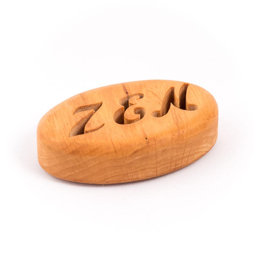 porte savon artisanal en bois