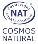 Logo cosmébio cosmos natural