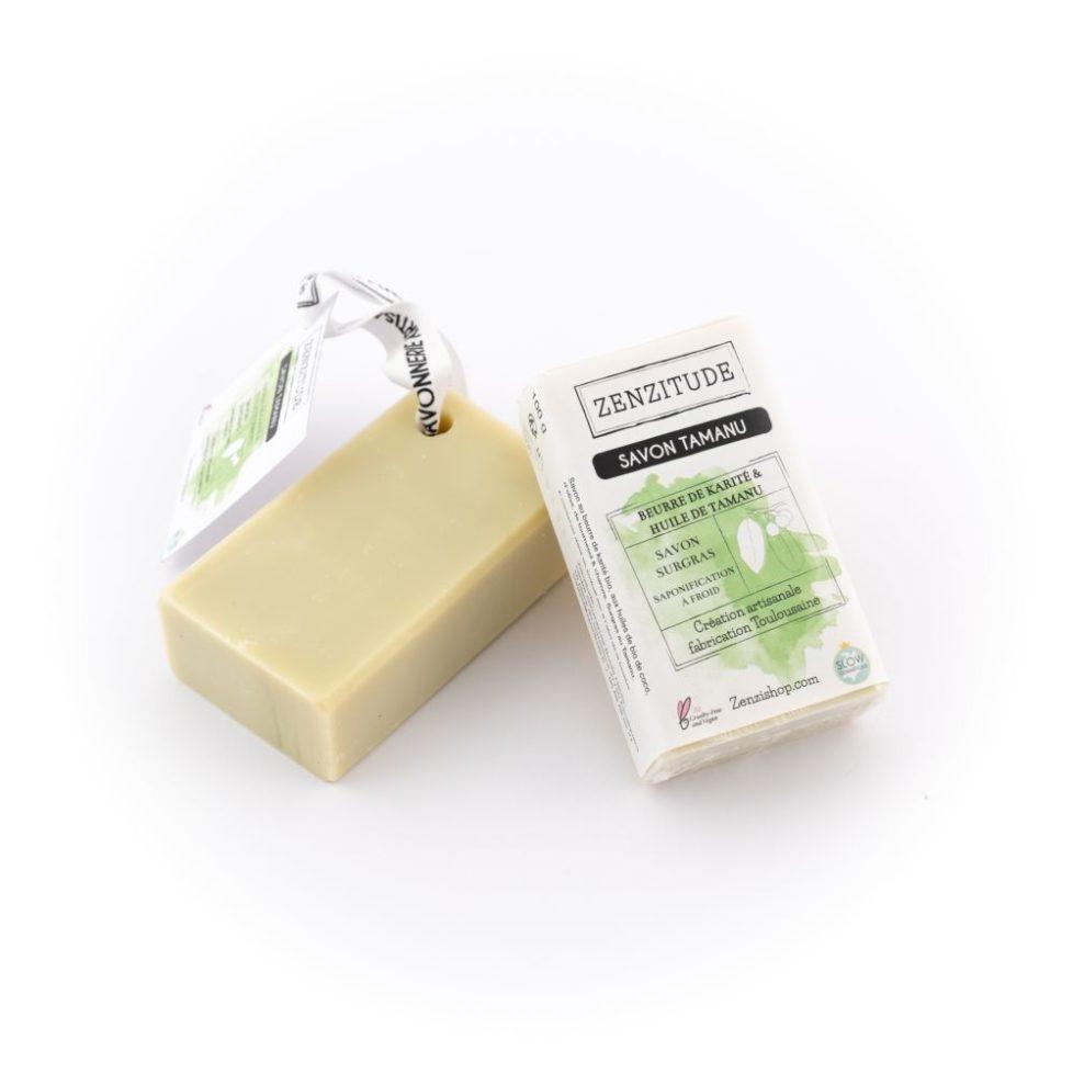 savon tamanu pour peaux sensibles